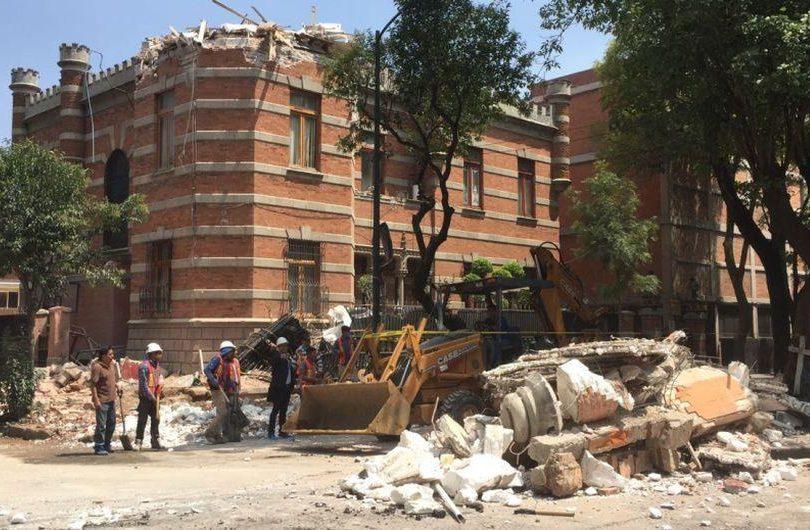 """""""México sabe llorar"""": conmovedor relato de una chilena en medio del terremoto"""