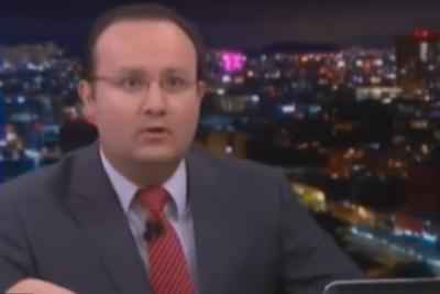 VIDEO | A lo Christian Pino: periodista transmite en vivo el terremoto 8.2 en México