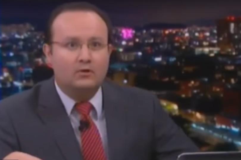 VIDEO   A lo Christian Pino: periodista transmite en vivo el terremoto 8.2 en México