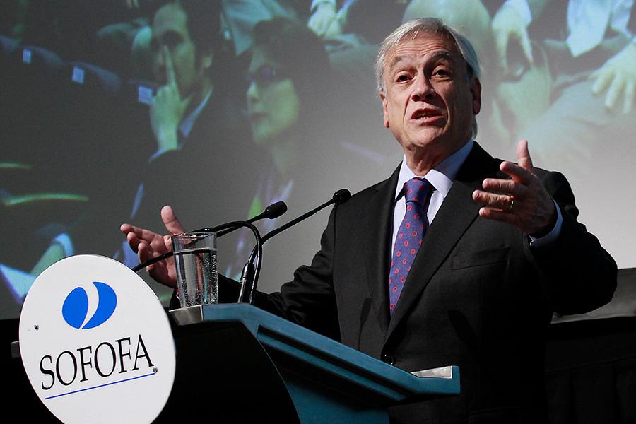 """""""Hay que estar ocho años en el Gobierno"""": el comentario de Piñera que sacó risas en la Sofofa"""