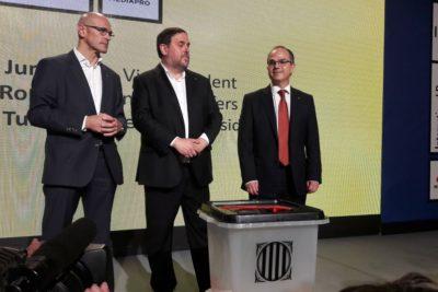 Gobierno catalán da a conocer los centros de votación para referéndum separatista