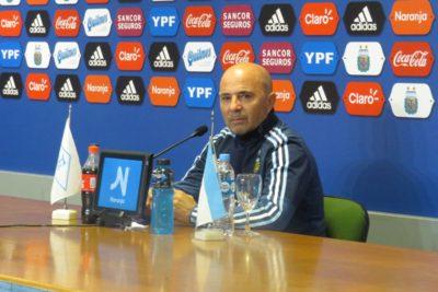 Jorge Sampaoli amenaza con renuncia a la selección de Argentina