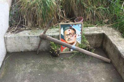 Profanación de fotografía de Salvador Allende desata guerra de declaraciones al interior de la UAI