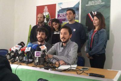 Izquierda Autónoma propone ocho puntos para un eventual acuerdo con la Nueva Mayoría en segunda vuelta