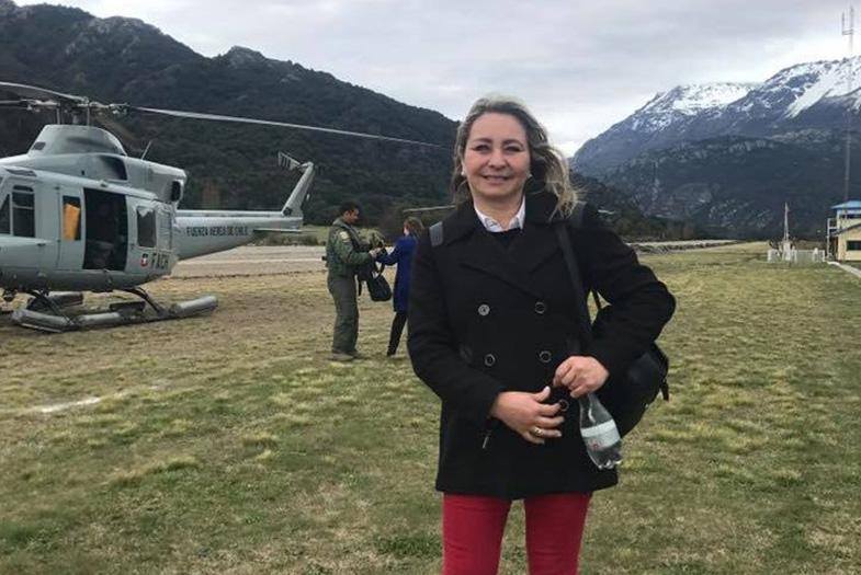 Denuncian que Marisol Turres usó helicóptero de la FACH para hacer campaña durante licencia