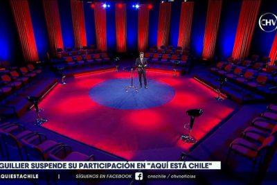 """VIDEO   Aquí Está Chile y ausencia de Guillier: """"Es una oportunidad perdida para los ciudadanos"""""""