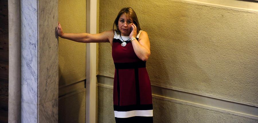 """""""La explicación de Marisol Turres por hacer campaña con licencia médica:"""