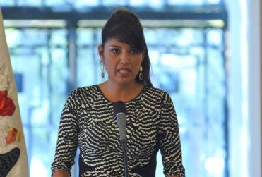 Karen Rojo, alcaldesa cercana a Chile Vamos, da su apoyo a Alejandro Guillier