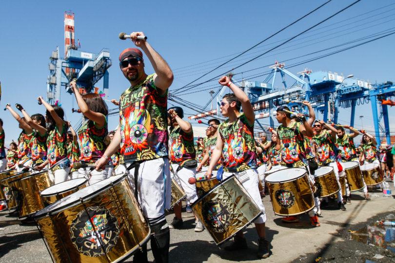 FOTOS   Basural de los mil Tambores: así quedó Valparaíso tras la celebración