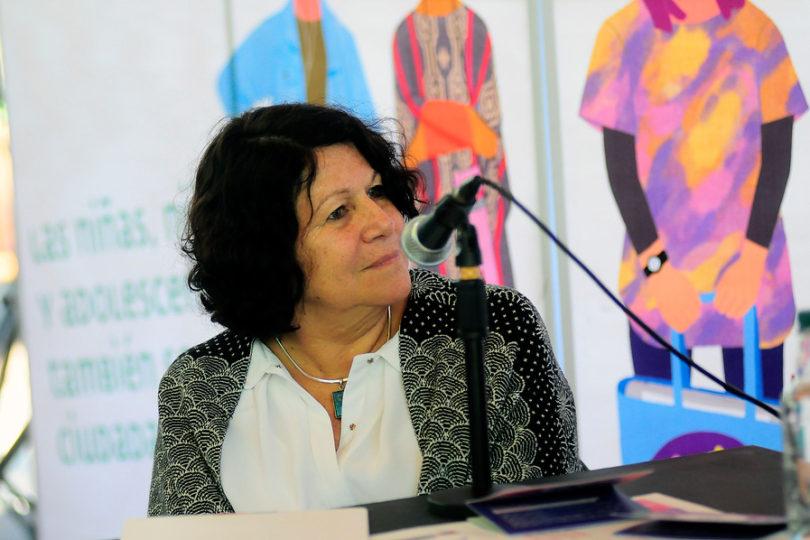 Estela Ortiz presta declaración por muertes en centros de acogida del Sename