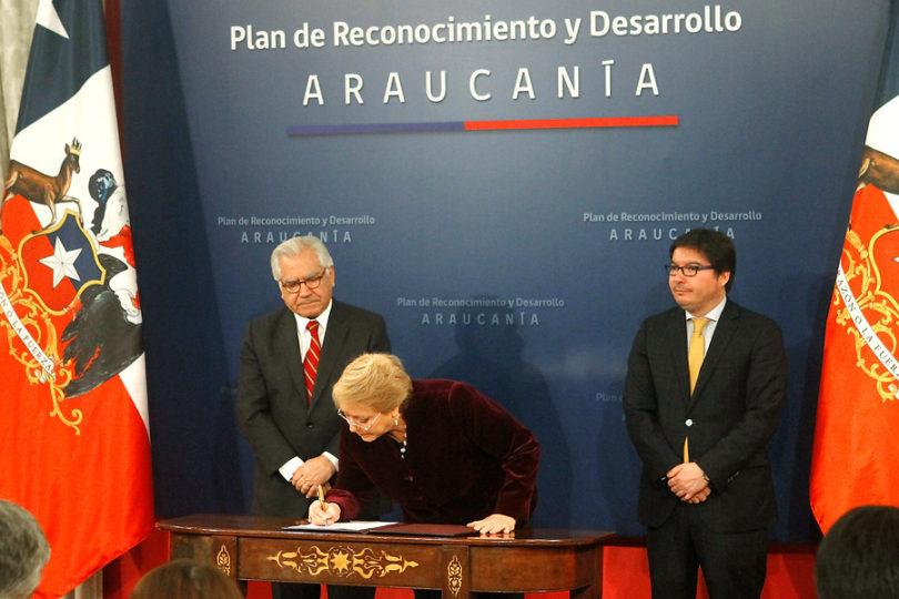 La Moneda presentó Plan Especial Araucanía que da reconocimiento a pueblos originarios