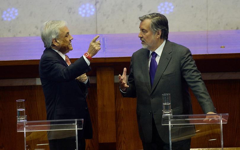 CERC-MORI: Sebastián Piñera lidera con un 44% y seguido de Guillier con un 30%
