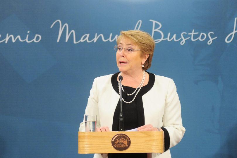 """""""No tendrá excusas"""": la advertencia de Bachelet al sucesor de su Gobierno"""