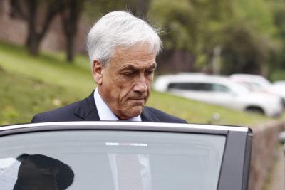 """VIDEO  Le gritaron """"sinvergüenza"""" a Sebastián Piñera en la calle y su reacción fue comentario obligado"""
