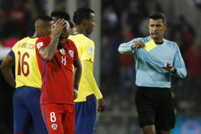 Chile no pierde las esperanzas: ANFP apelará a la tarjeta amarilla de Arturo Vidal