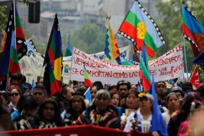Rechazan recurso de amparo y comuneros mapuche se mantienen en prisión preventiva