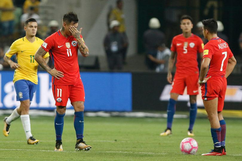 Jugadores de Chile se llevan U$10 millones por no clasificar al Mundial de Rusia