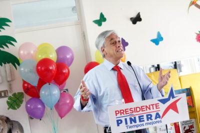 """Sebastián Piñera acusa al Gobierno de """"uso electoral"""" de proyecto de nueva Constitución"""