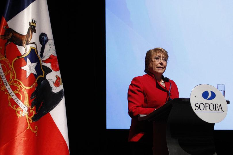 """Bachelet responde Bernardo Larraín: """"Podemos enviar proyectos hasta que terminemos el gobierno"""""""