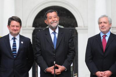 """Mahmud Aleuy en su vuelta a La Moneda: """"No tengo condiciones de molestarme"""""""