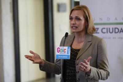 """Carolina Goic insiste en su crítica hacia las encuestas: """"Quieren hacer creer que la elección ya terminó"""""""