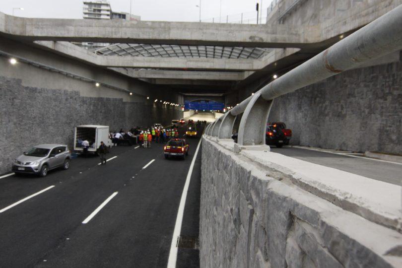 FOTOS + VIDEO |Conoce todos los detalles del recién inaugurado túnel de Avenida Kennedy