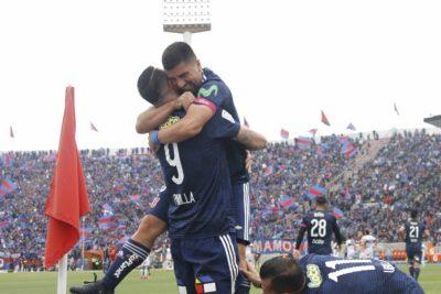VIDEO |La U alcanza a Colo Colo con este golazo de Pizarro en el clásico universitario