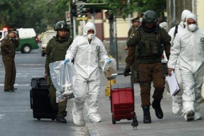 Carabineros desplegó operativo por paquete sospechoso en cercanías de la sede del PPD