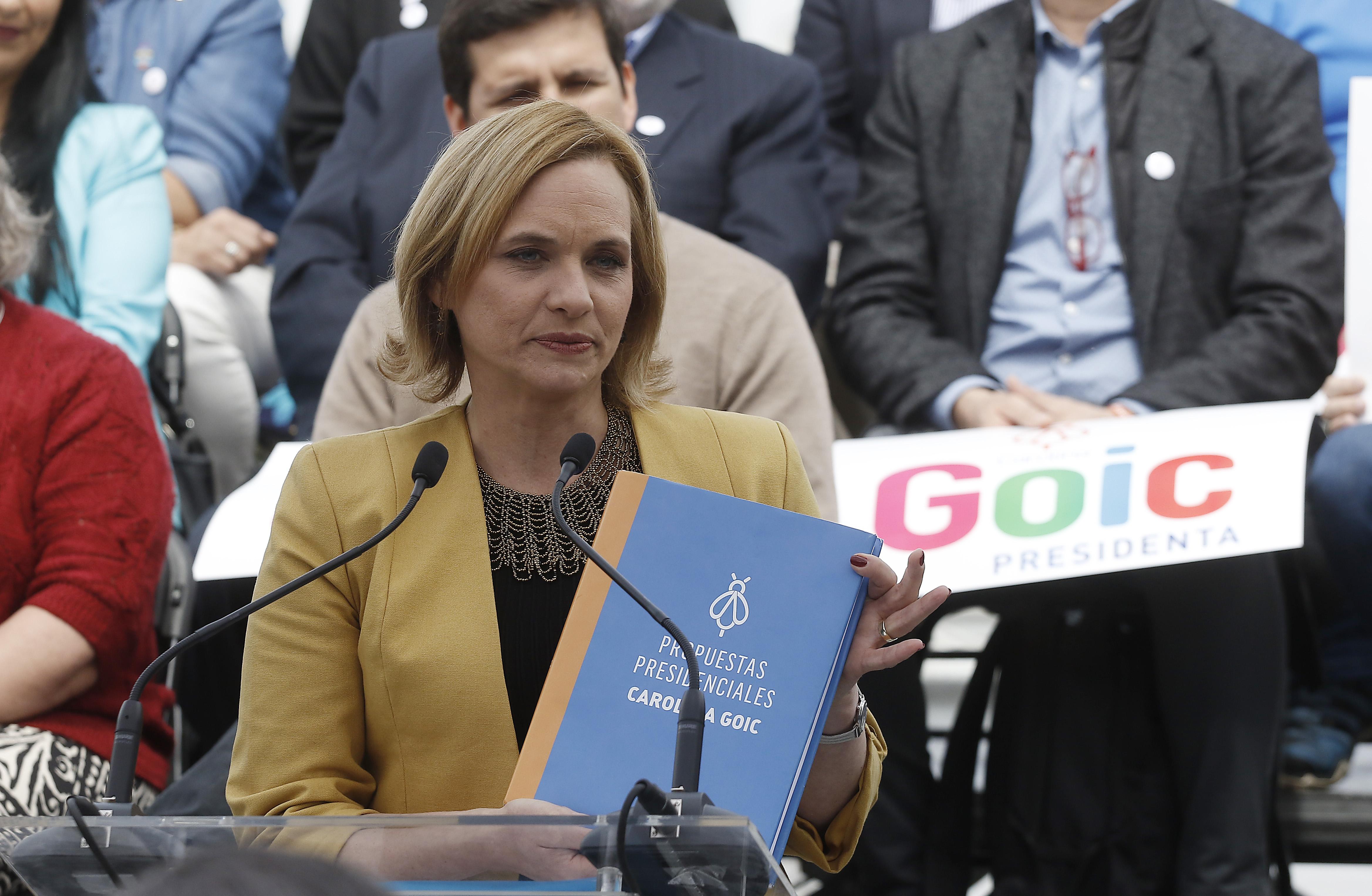De educación gratuita técnica a un Ministerio de Seguridad Pública: los ejes del programa de Carolina Goic