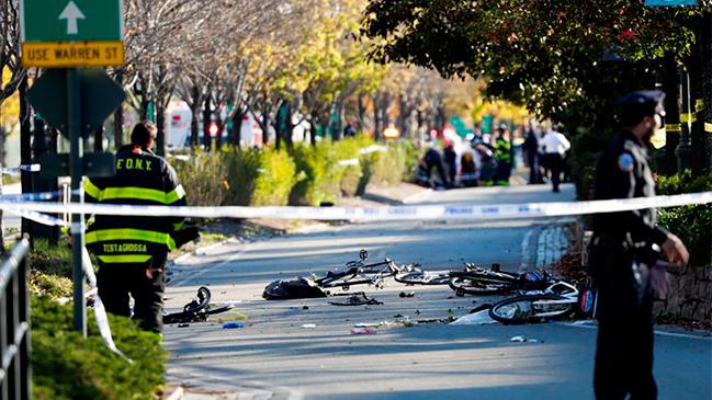 Atropello masivo en cercanías de memorial del 11-S en Manhattan deja al menos 8 muertos