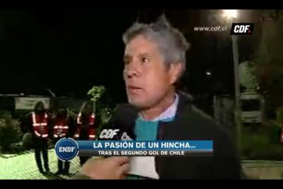 """""""No soy de cartón"""": los descargos del hincha que se perdió el gol de Alexis por criticar a la Roja"""