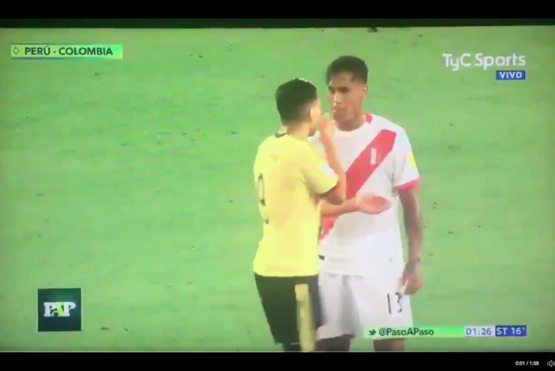 VIDEO | Cámaras captan a Falcao y jugadores peruanos pactando el empate para clasificar