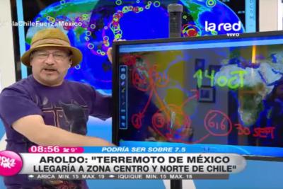 Aroldo Maciel y Juan Andrés Salfate vuelven a quedar en vergüenza con predicción que no fue