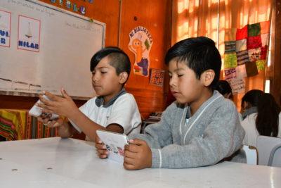 Lanzan programa de educación digital y conservación de la lengua aymara