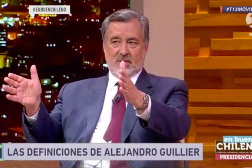 """Alejandro Guillier realiza guiño a Goic: """"Ella es mi aliada para hacer política"""""""