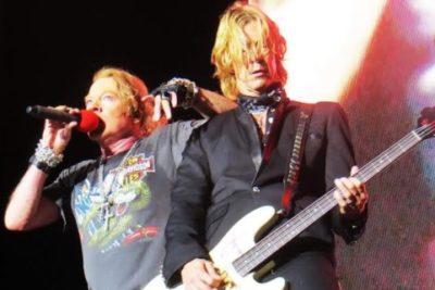 Guns N' Roses en Santiago Rock City: La Ciudad Paraíso del Rock.