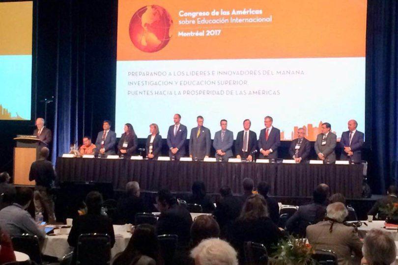 Primer rector chileno asume presidencia de organización universitaria interamericana