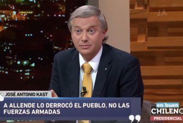 """Kast y Melnick se unen para decir que """"a Allende lo derrocó el pueblo"""" y """"fue una dictadura"""""""