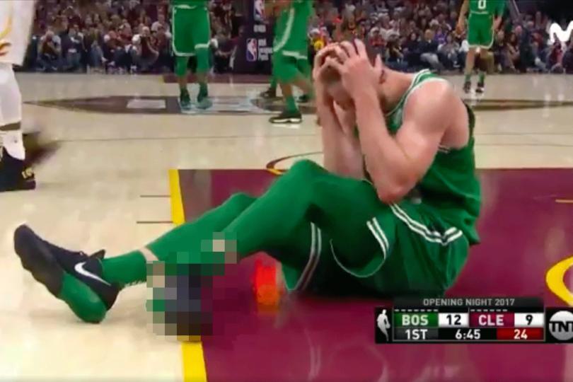 VIDEO   Estremecedor relato de la transmisión de la NBA tras brutal lesión de Hayward