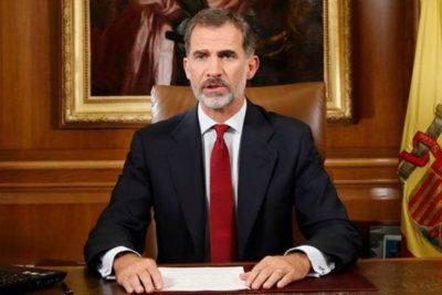 """Rey Felipe VI a Cataluña: """"Han menospreciado la solidaridad de los españoles"""""""