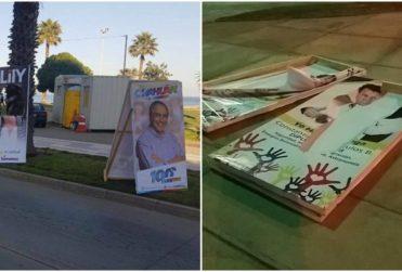 Amplitud denuncia destrucción de propaganda electoral de senadora Lily Pérez y de otros candidatos