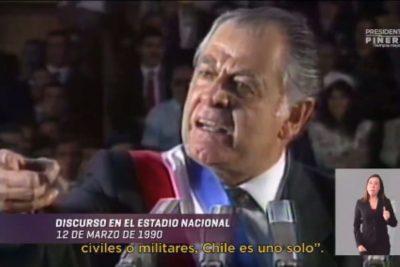 Guerra desatada entre la DC y Piñera por uso de la imagen de Patricio Aylwin en su franja
