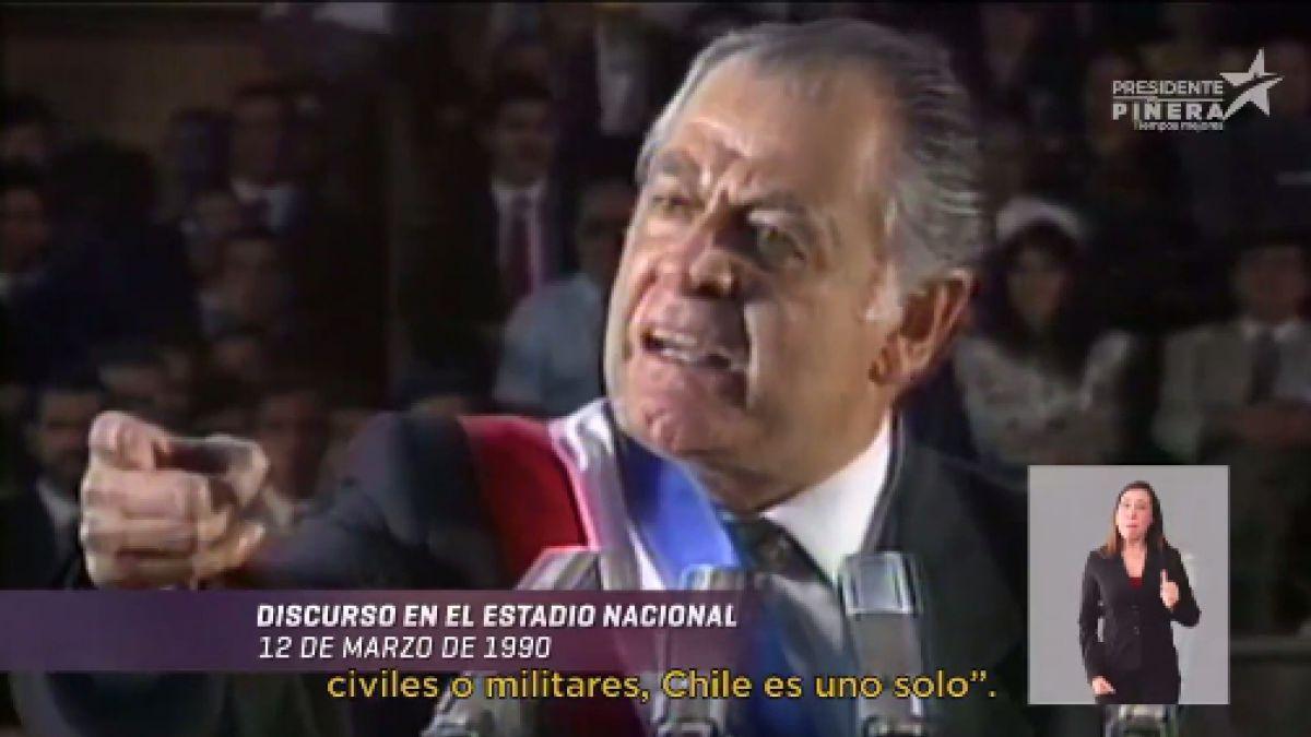 """""""Guerra desatada entre la DC y Piñera por uso de la imagen de Patricio Aylwin en su franja"""""""