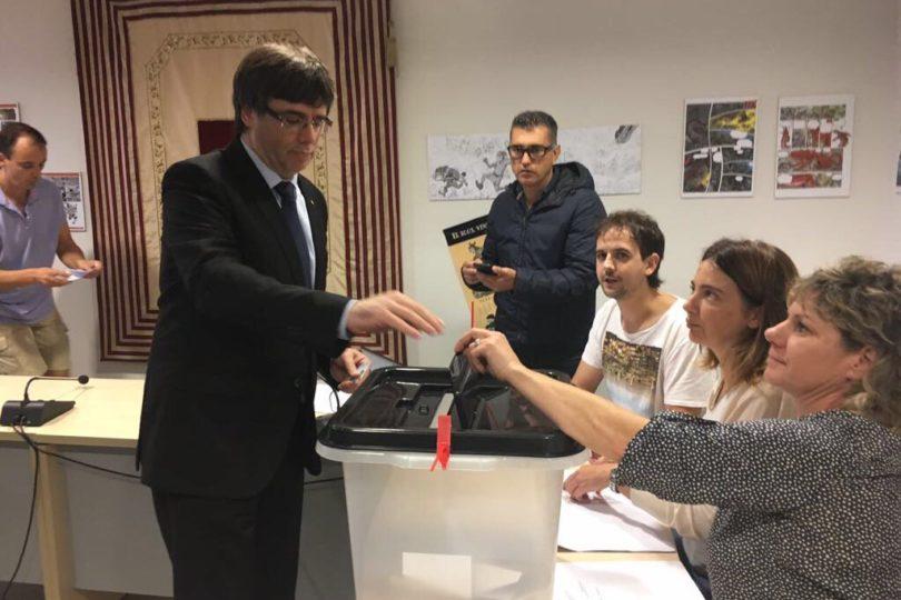 Presidente catalán disolverá el Parlamento y convocará elecciones anticipadas