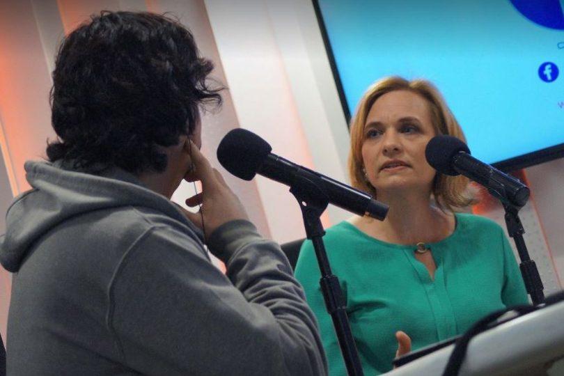 VIDEO | Más furiosa que con Villegas: Goic le dijo de todo a Freddy Stock durante transmisión en vivo