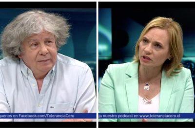 """VIDEO   Pelea bíblica entre Goic y Villegas por la Virgen de Lourdes entra al """"top 5"""" de Tolerancia 0"""