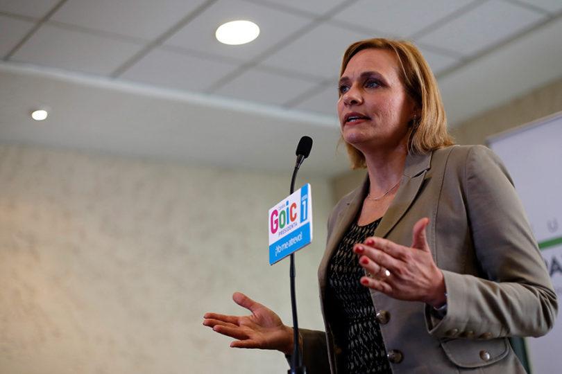 Goic cuestiona encuesta CEP y acusa colusión con Piñera