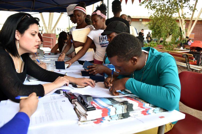 Niños haitianos recibieron visa que les permitirá tener beneficios estudiantiles