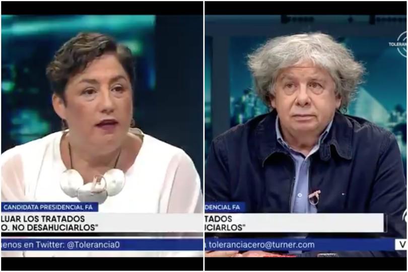 VIDEO   Beatriz Sánchez vivió su propio Halloween en Tolerancia 0 por Fernando Villegas y cifras de economía