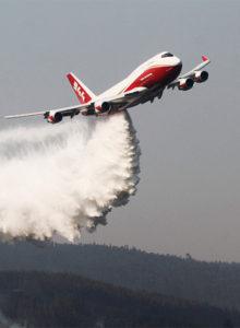 Gobierno contacta a dueños del SuperTanker previo a la temporada de incendios forestales